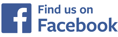 find us on facebook badge narrow