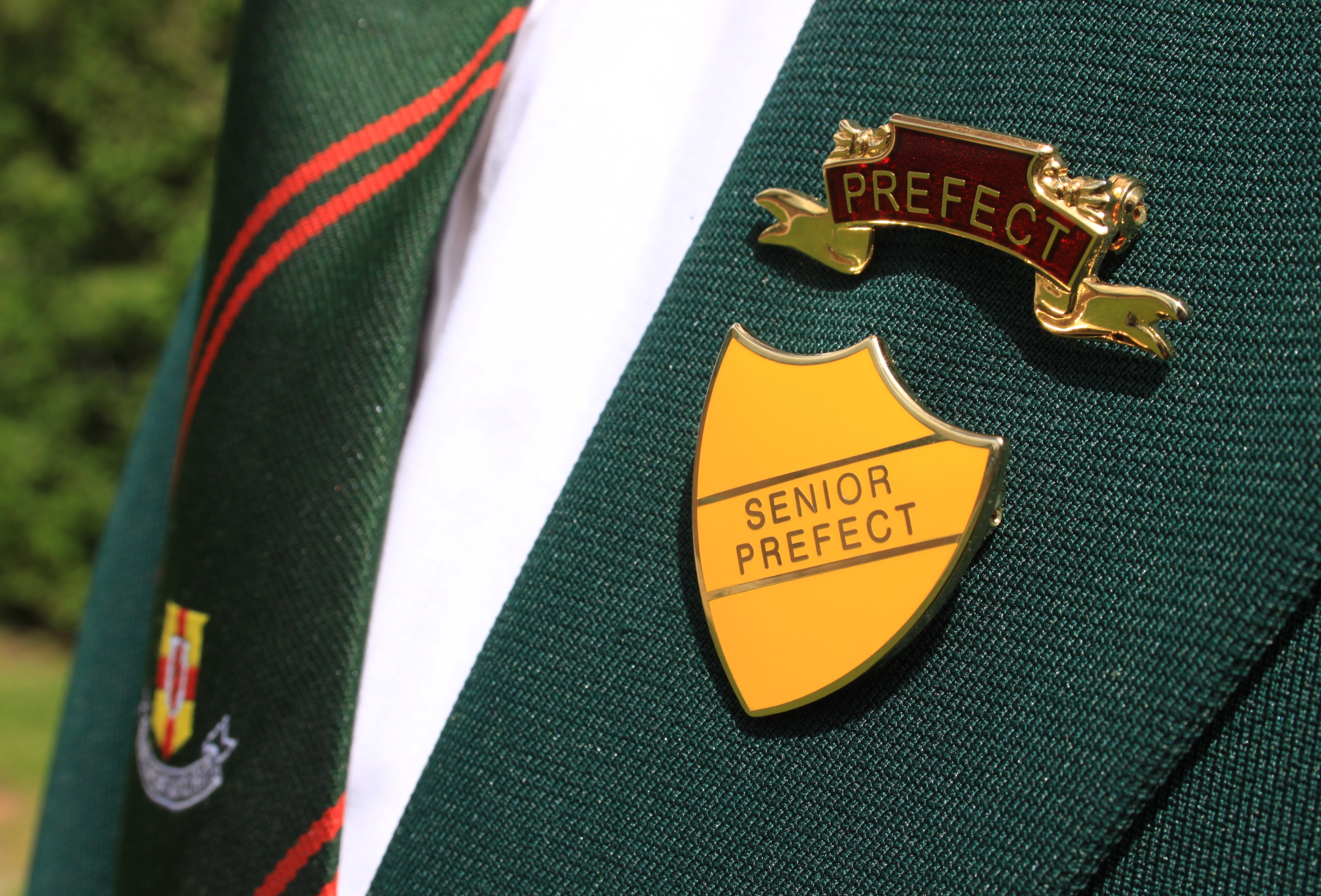 senior prefect badge